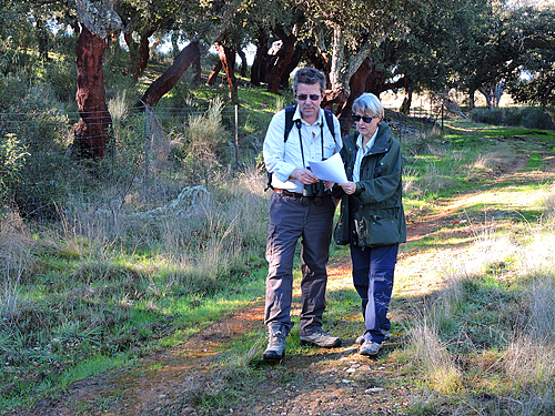 Extremadura, walking, Finca Las Abubillas, holiday